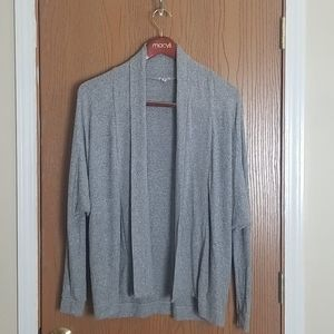 Ecote Urban Outfitters Gray Open Front Cardigan S